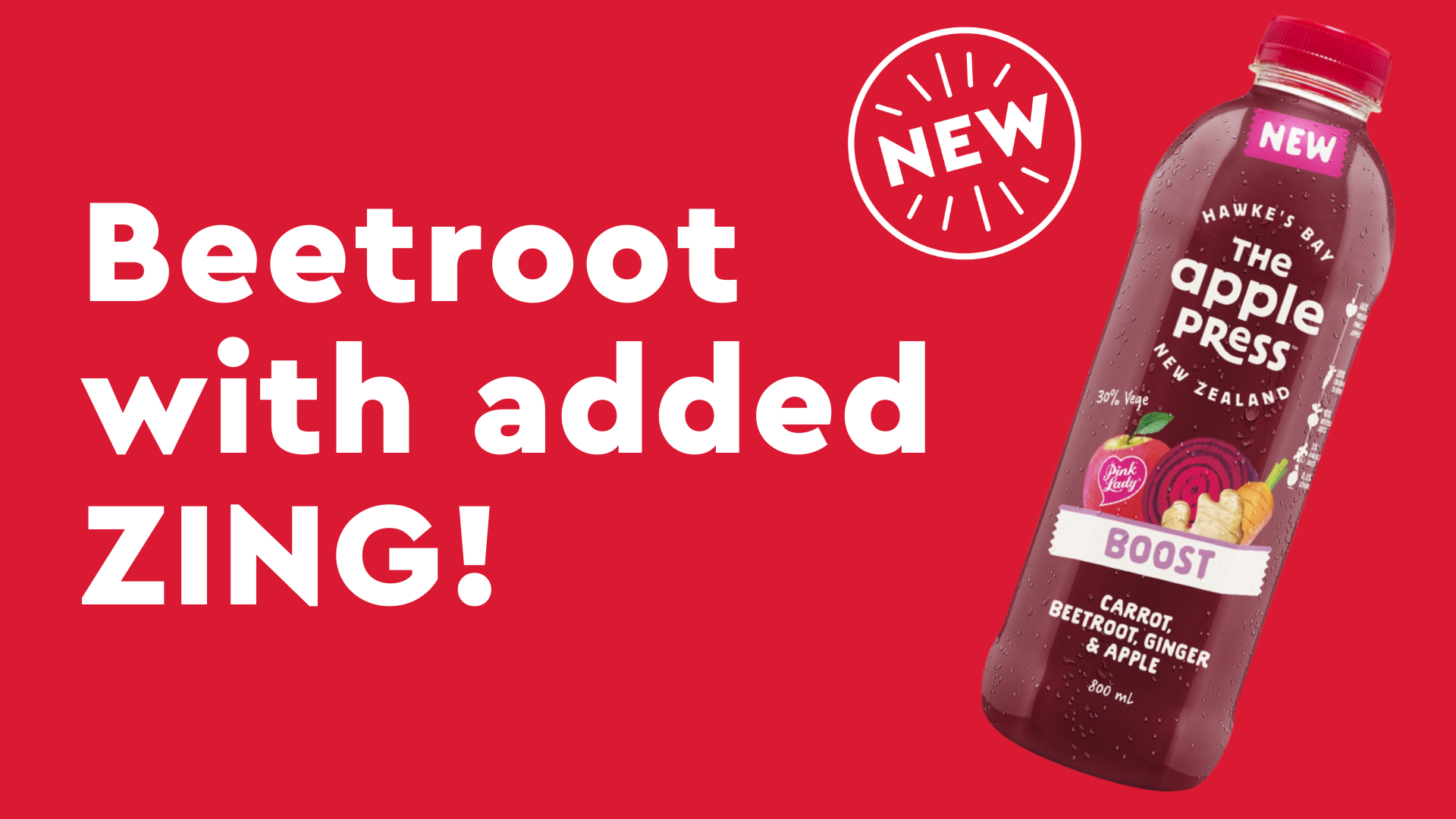 BOOST Beetroot and Pink Lady
